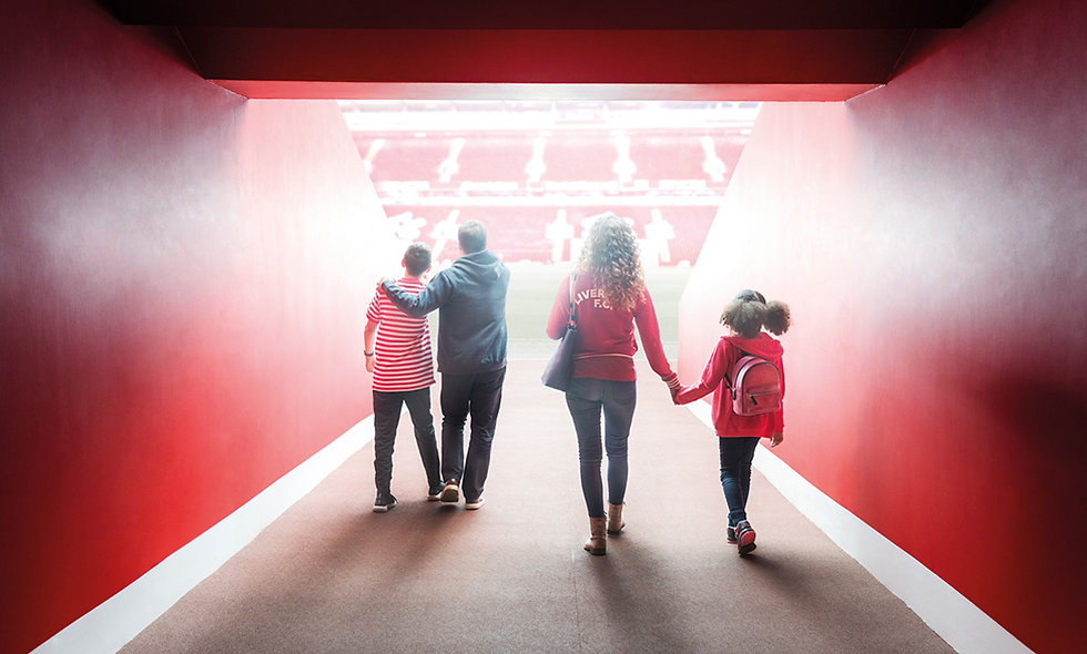Liverpool FC Stadium Tour & Museum Entry with Overnight Stay