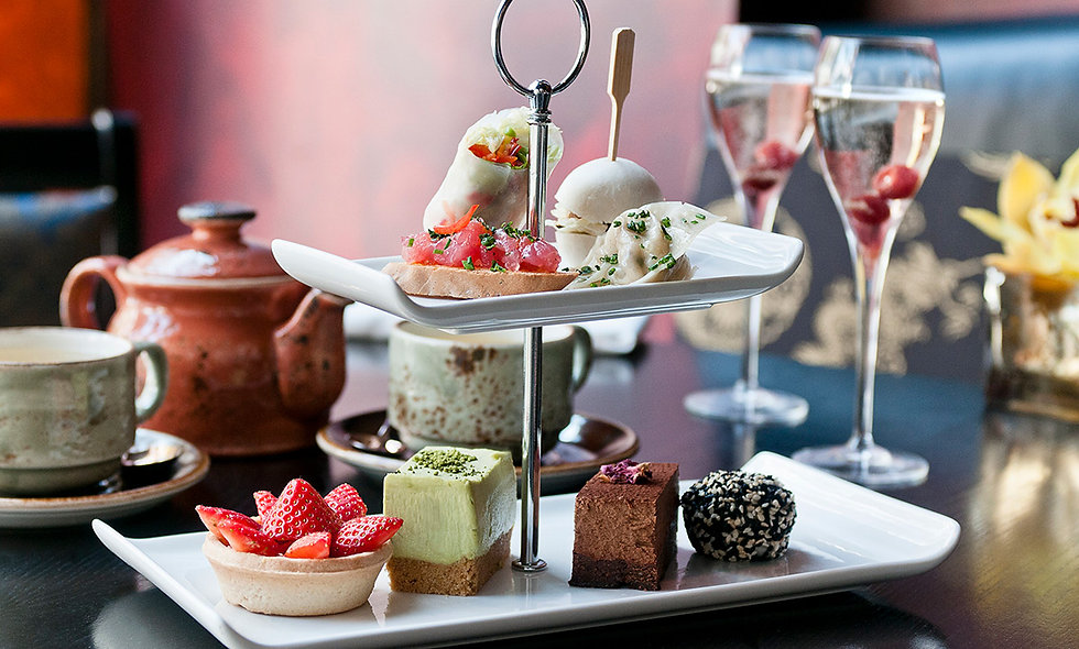 Sparkling Afternoon Tea for Two at Buddha-Bar Lond