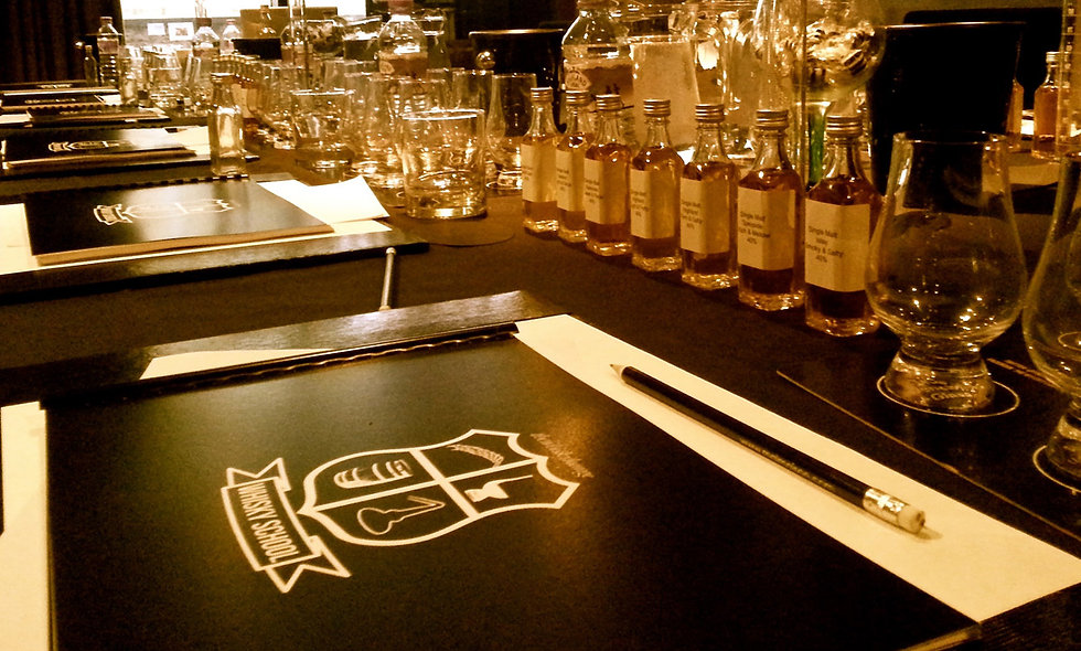 One Day Whisky School and Lunch with The Whisky Lounge