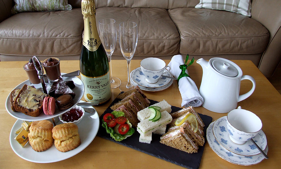 Vineyard Tour and Tasting with Sparkling Afternoon Tea