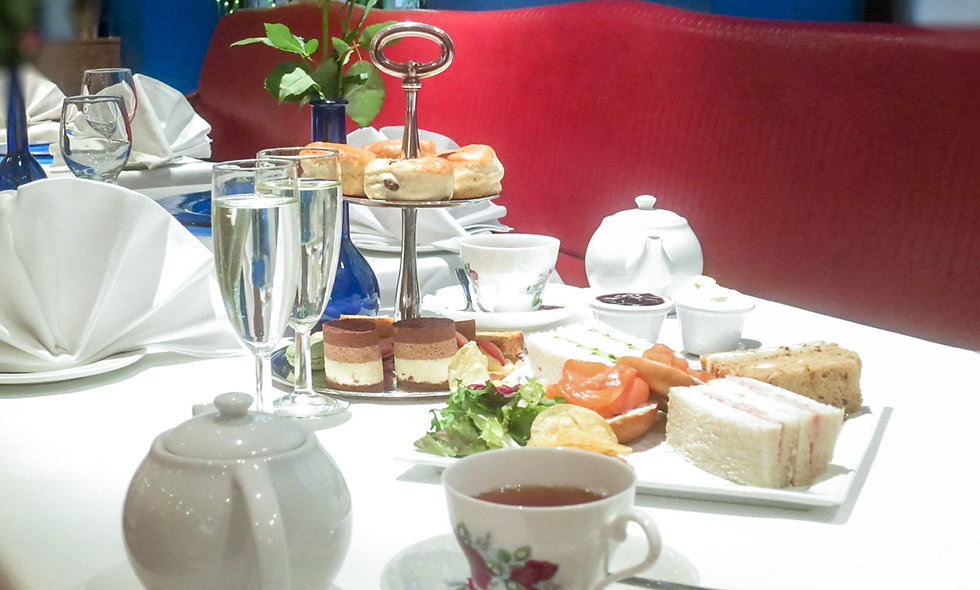 Champagne Afternoon Tea for Two at The Washington Hotel, London