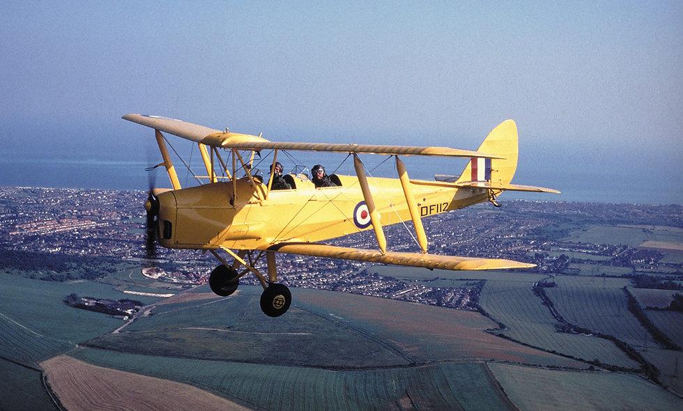 De Havilland Rapide Flight over London for Two