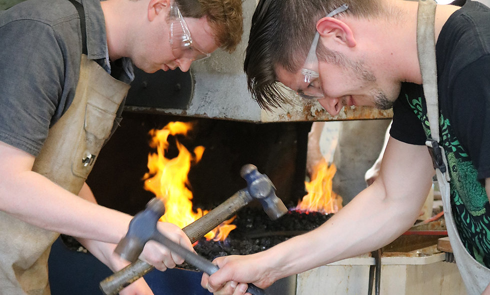 Blacksmith Forging with Beer, Cider or Wine Tour