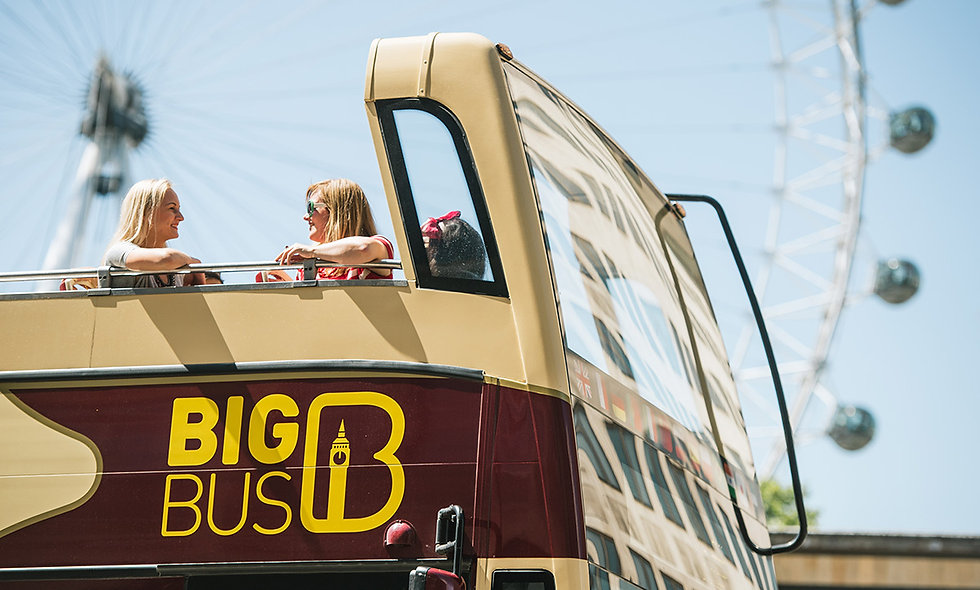 Explore London with Hop-On, Hop-Off Sightseeing Bus, River & Walking Tour