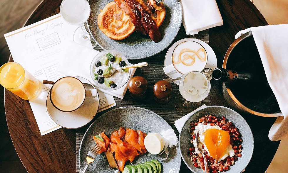 Three Course Sunday Brunch for Two with a Bottle of Champagne