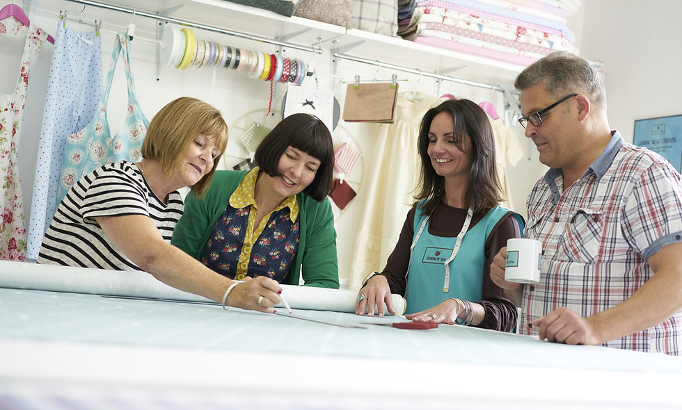 Vintage Sewing Workshop with Afternoon Tea for Two