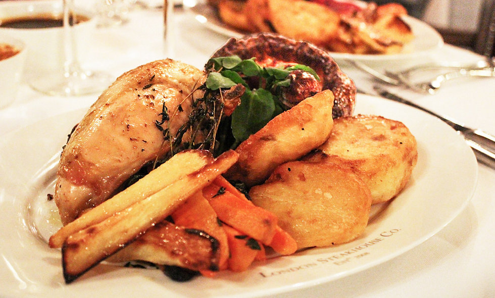 Three Course Sunday Roast with Cocktail for Two at Marco Pierre White