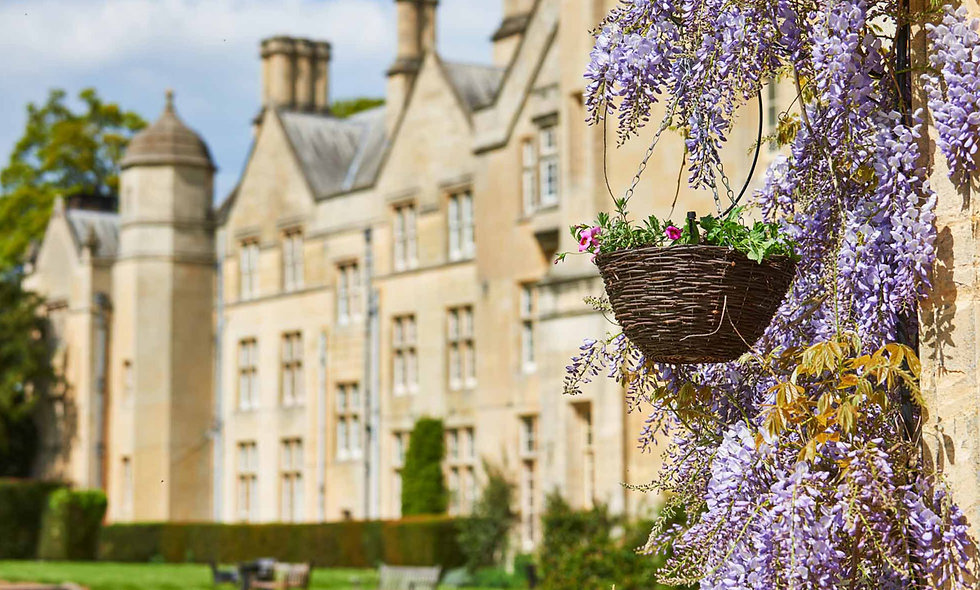 One Night Cotswolds Break for Two at Dumbleton Hall, Cotswolds