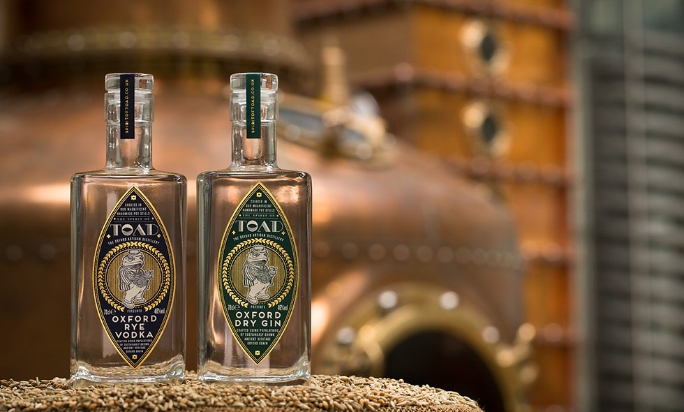 The Oxford Artisan Distillery Tour with Tastings