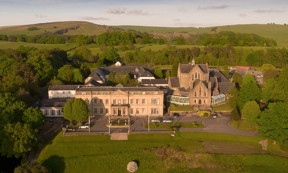 One Night Peak District Break for Two at The Shrigley Hall Hotel
