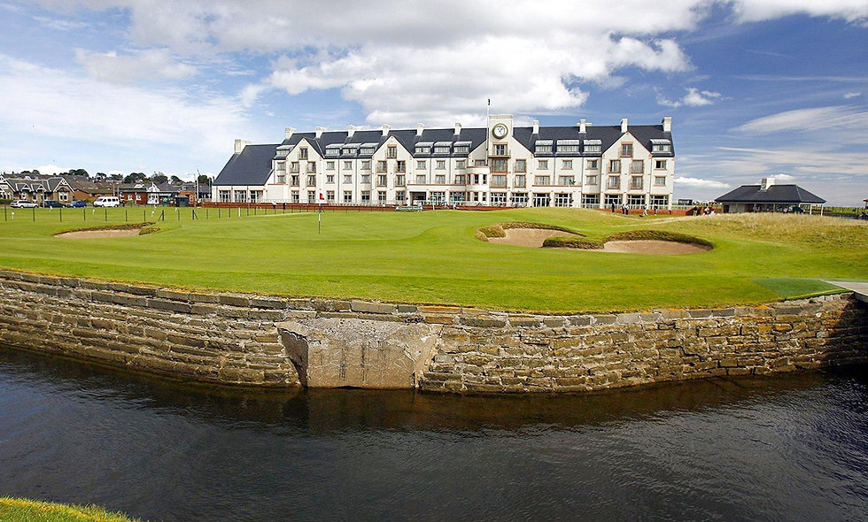 One Night Coastal Escape with Dinner for Two at the Carnoustie  Golf Hotel