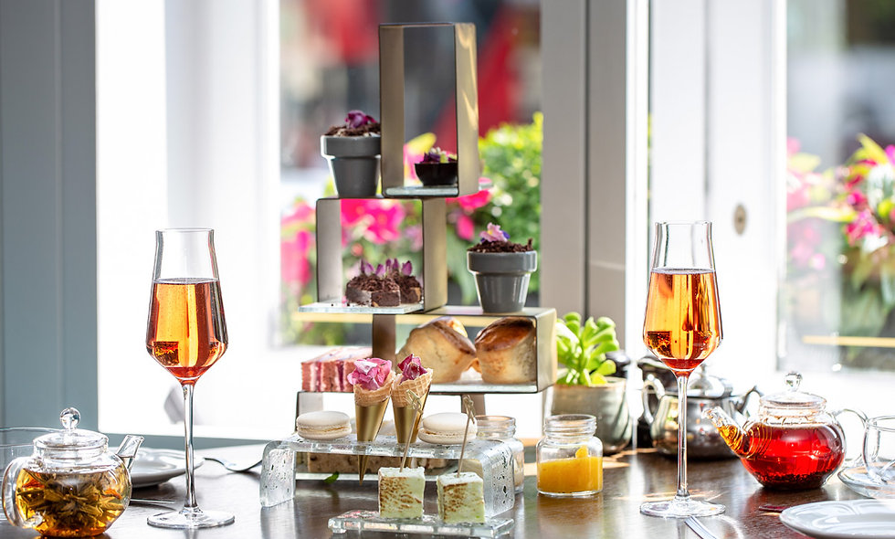 Botanical Afternoon Tea for Two at London Marriott