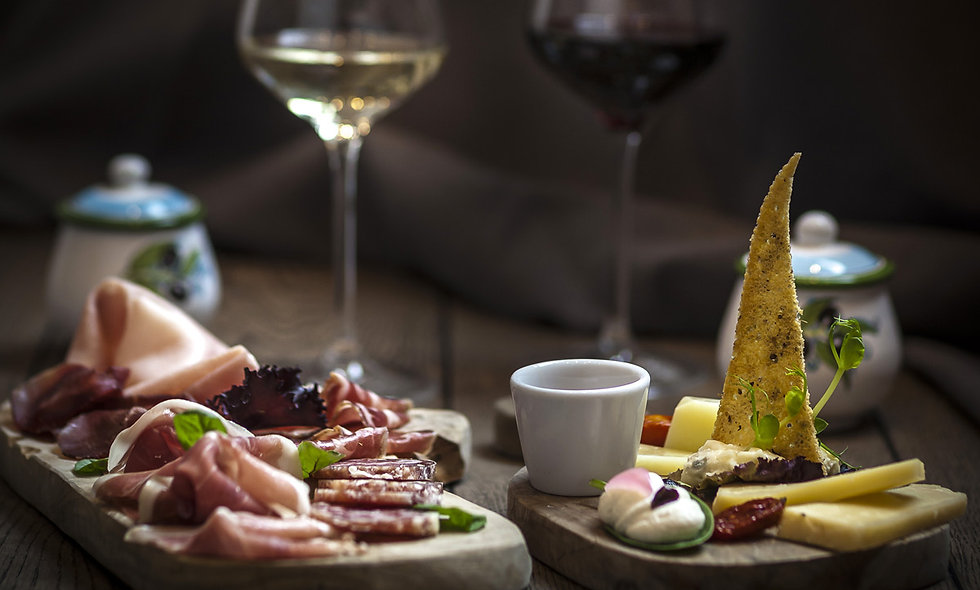 Cheese, Charcuterie and Wine Pairing for Two at Hotel Xenia