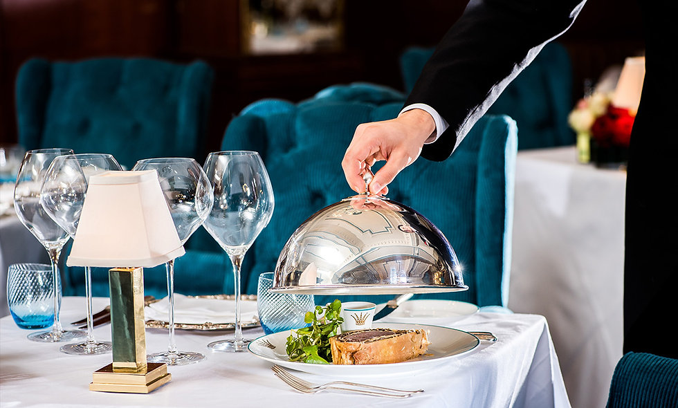 Three Course Champagne Lunch for Two at the 4* Rubens at the Palace Hotel