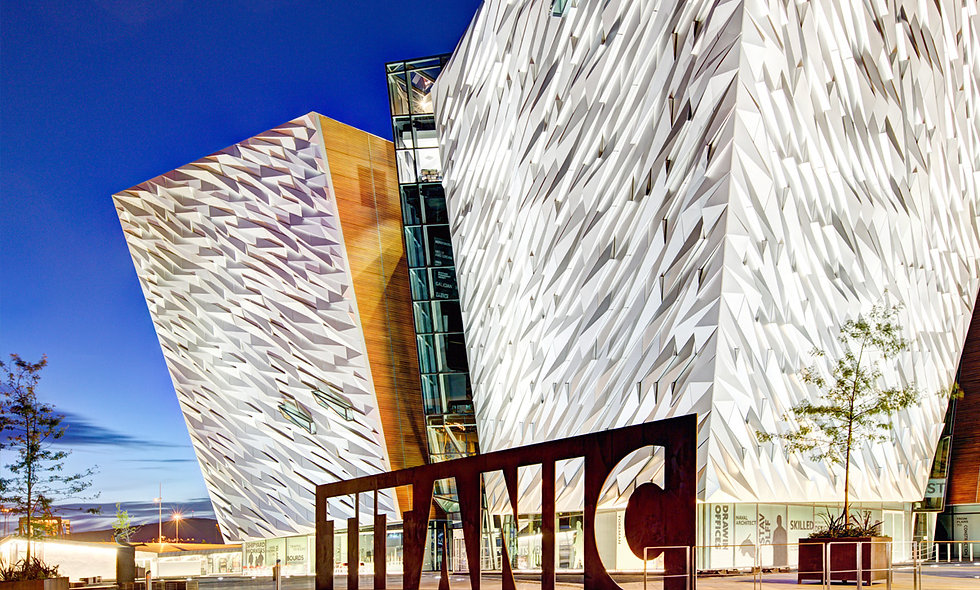 One Night 4* Belfast Break and Visit to The Titanic Experience