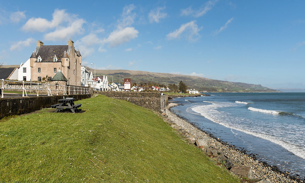 Two Night Antrim Coastal Break with Dinner for Two