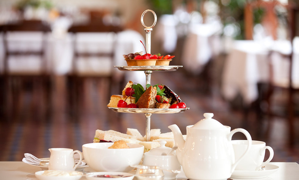 Traditional Afternoon Tea and Spa Treatment in Berkshire