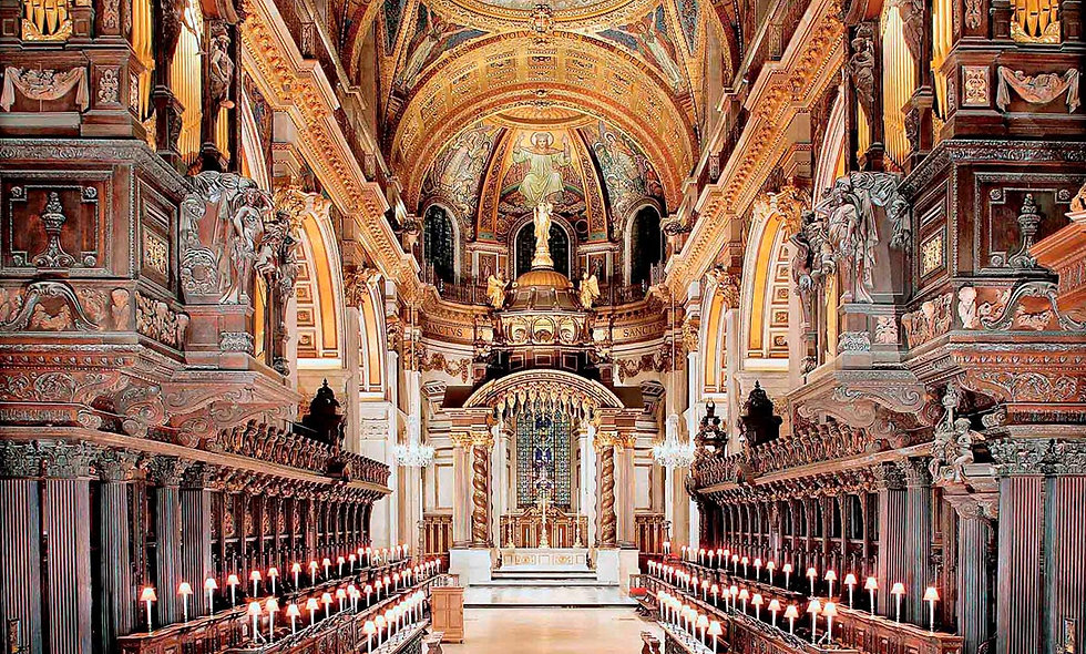 Visit to St Pauls Cathedral and Two Course Meal at Brasserie Blanc