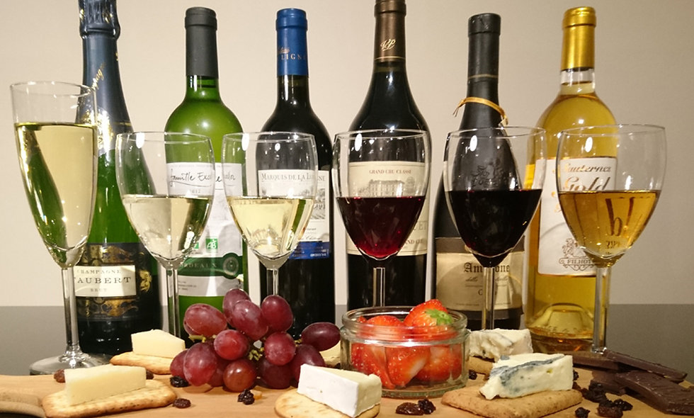 Luxury Wine, Champagne and Port Tasting paired with Cheese & Truffles