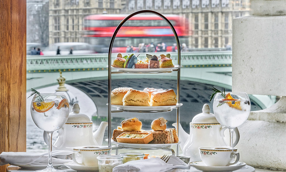 Free-Flowing Gin and Tonic Afternoon Tea at The Co