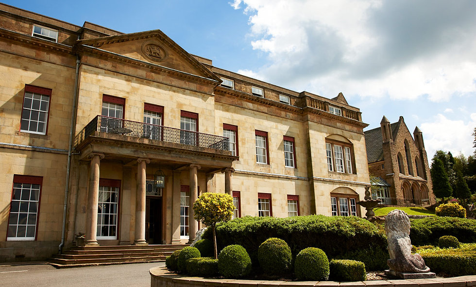 Relaxing Spa Treat and Prosecco for Two at The Shrigley Hall Hotel