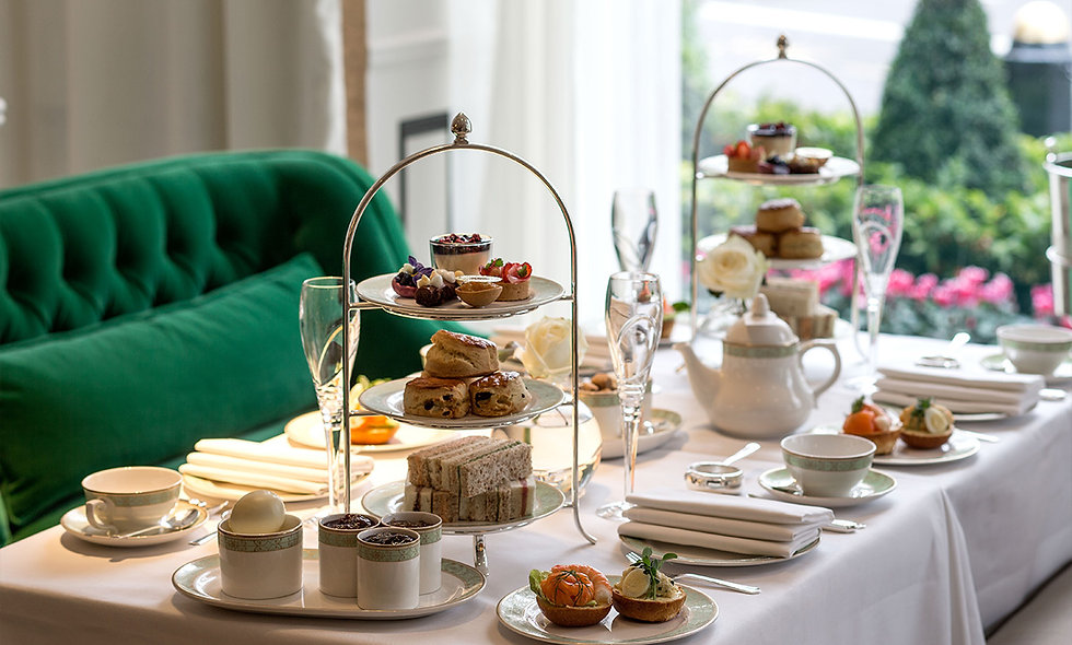 Champagne Afternoon Tea for Two at The Park Room, Grosvenor House, London