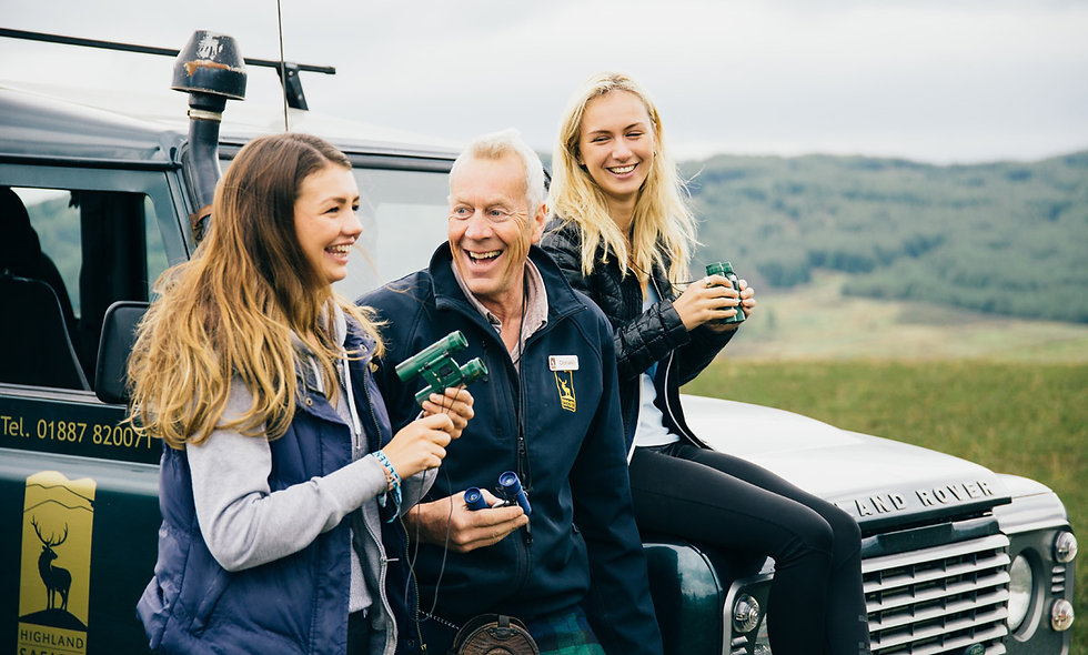 Highland Perthshire Off-Road Tour for Two