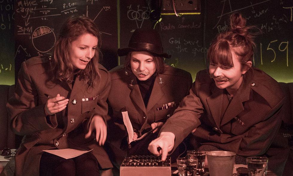 De-Code a Bespoke Cocktail at The Bletchleys Secret WW2 Bunker