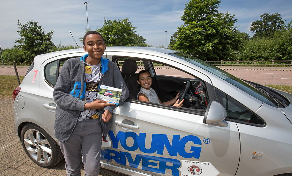 60 minute Young Driver Experience