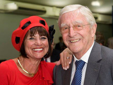 With Sir Michael Parkinson