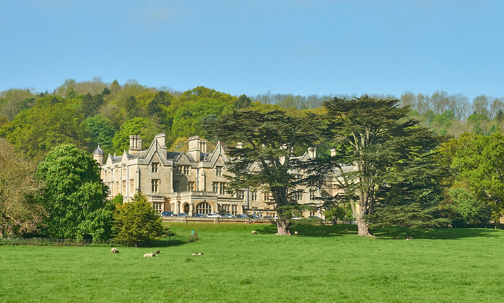 One Night Cotswolds Break with Dinner for Two at Dumbleton Hall, Cotswolds