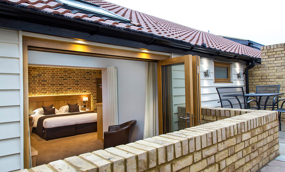Two Night Deluxe Break for Two at Tewin Bury Farm