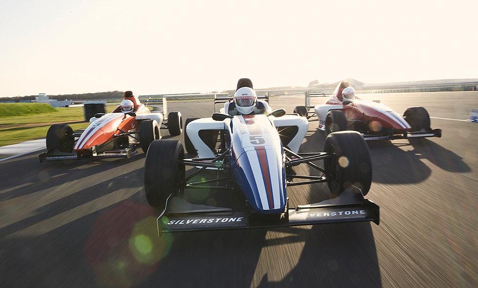 Formula Silverstone Single Seater Thrill - Morning