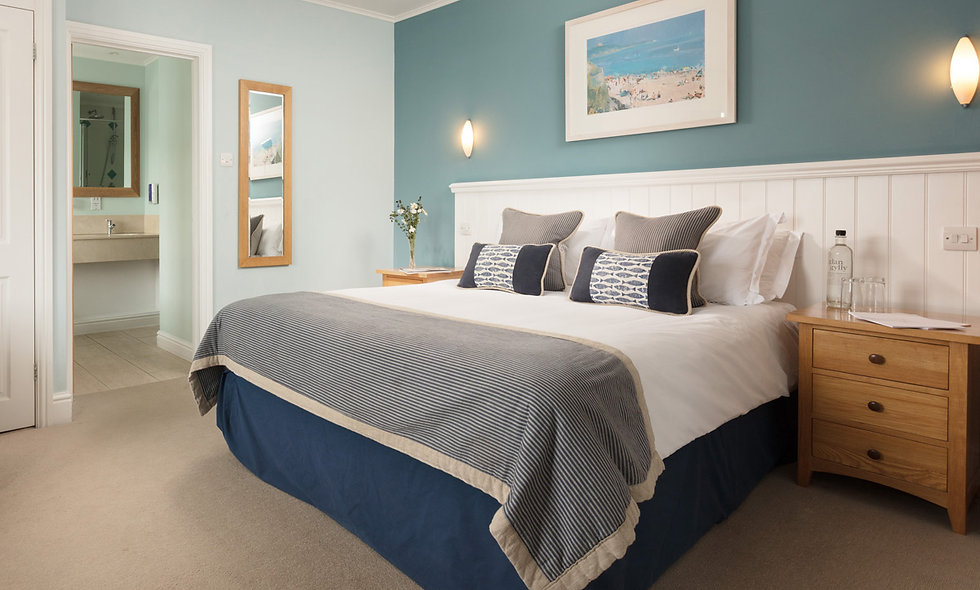 One Night Cornish Coast Escape with Dinner and Hydrothermal Spa