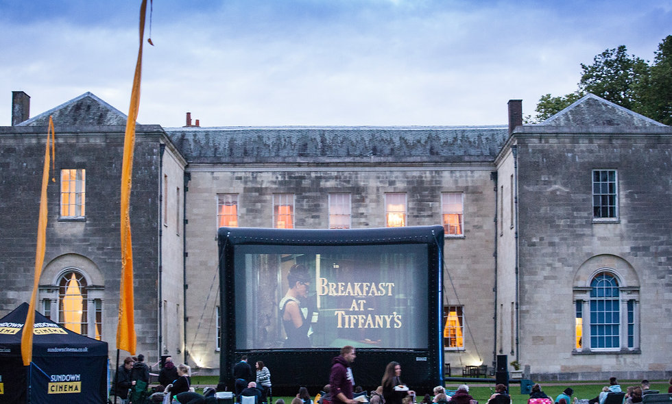 Open Air Cinema Experience with Popcorn, Prosecco and Deckchairs