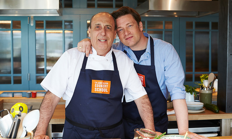 Jamie Cooks Italy Class at The Jamie Oliver Cookery School