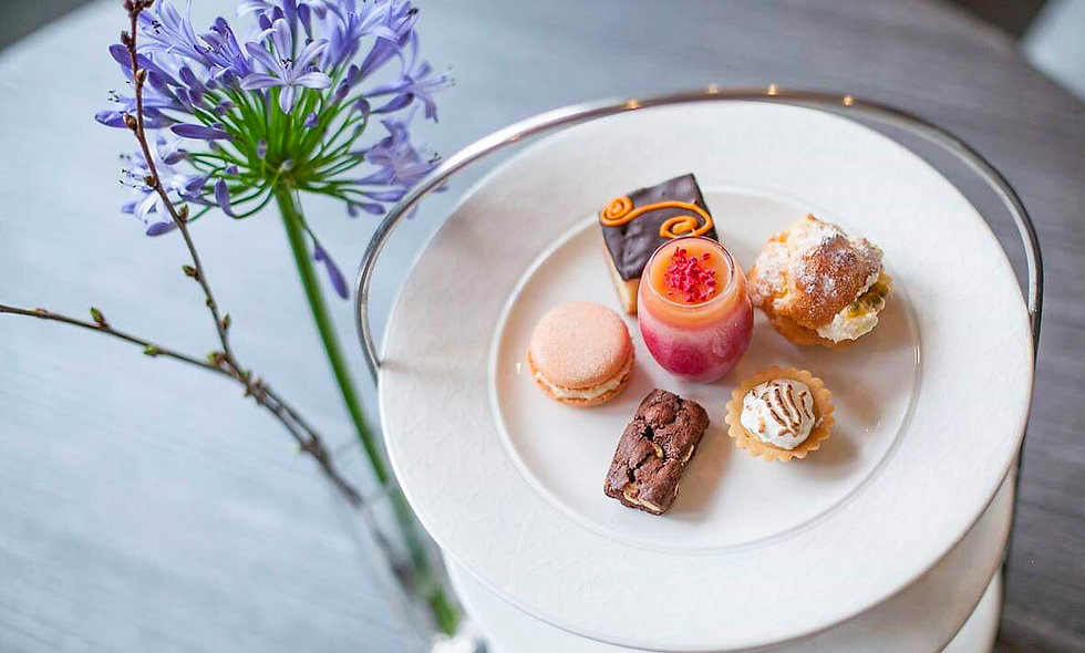 Afternoon Tea for Two at the Poets House Hotel & R