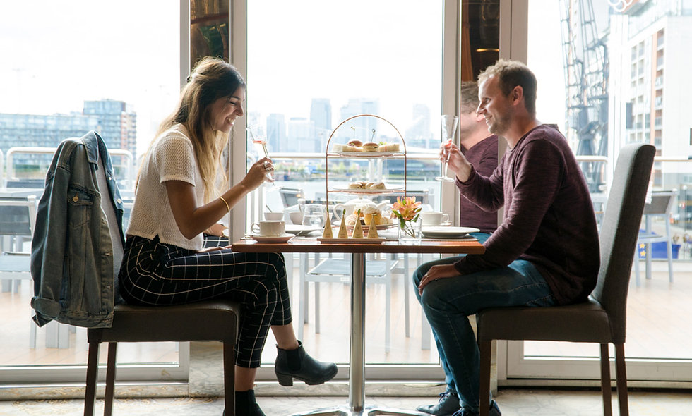 Champagne Afternoon Tea with Spa Treatment for Two