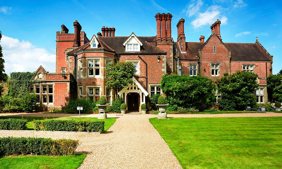 Afternoon Tea for Two at Alexander House Hotel