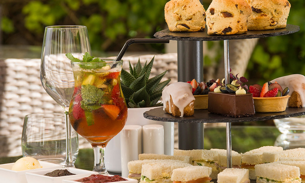 Traditional Afternoon Tea for Two at Chateau La Ch