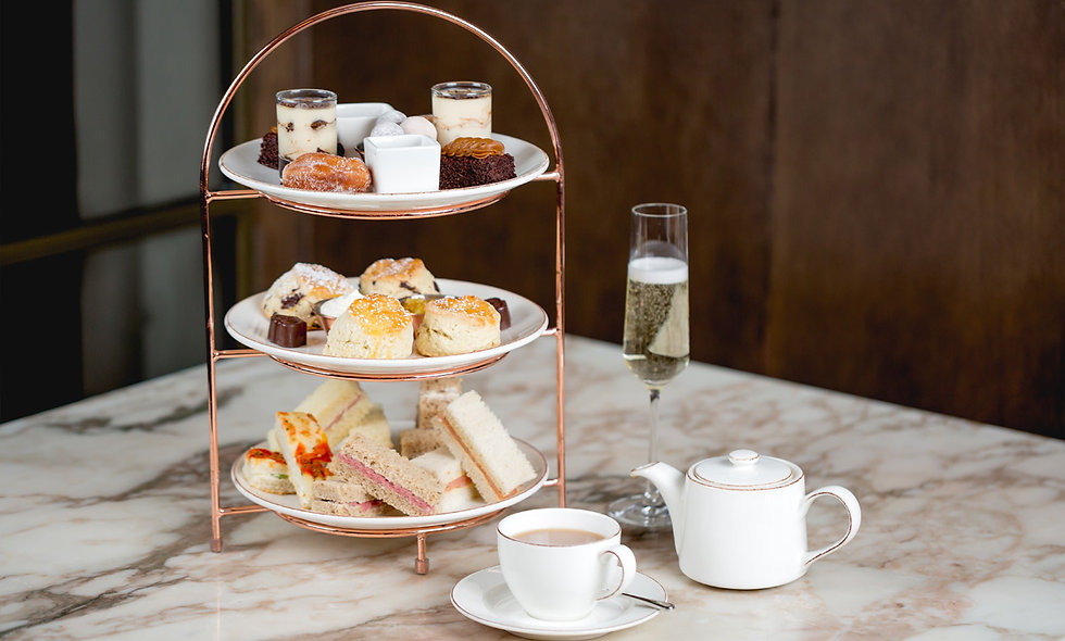 Charbonnel et Walker Chocolate Afternoon Tea with