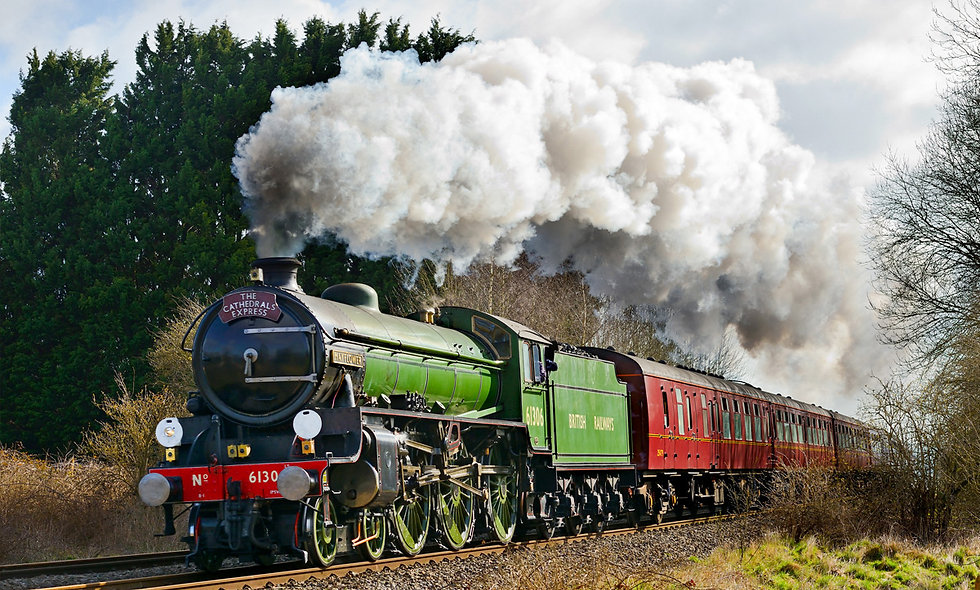 Premium Standard Steam Train Experience for Two with the Steam Dream Co.