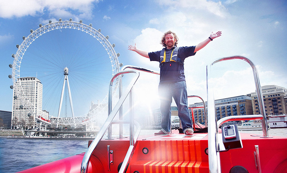 Thames Rockets Speed Boat Voyage for One