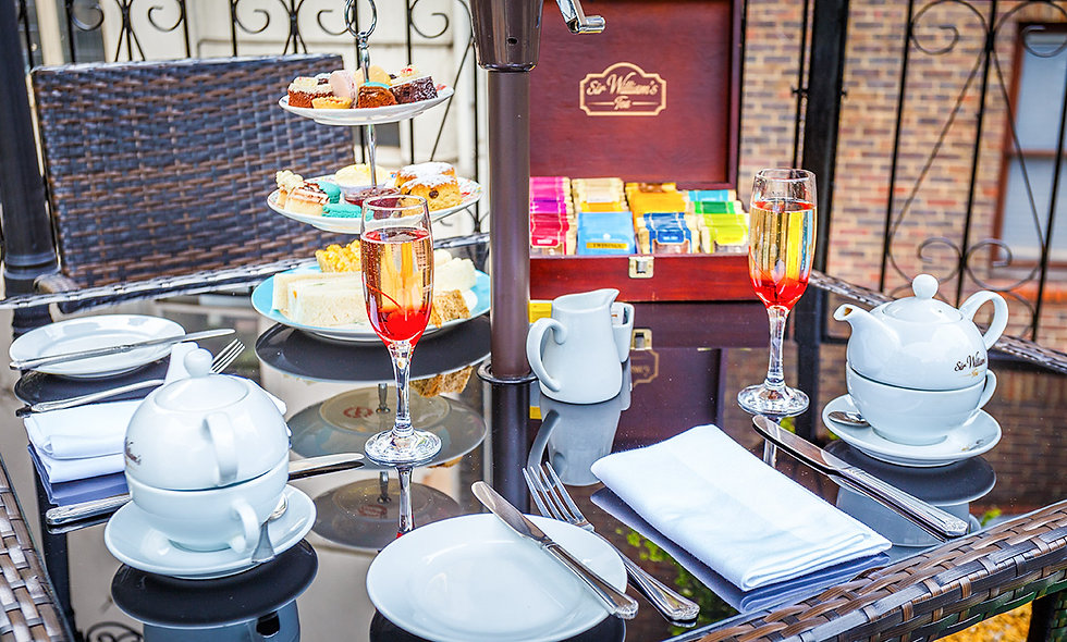 Champagne Afternoon Tea for Two at the London Elizabeth Hotel