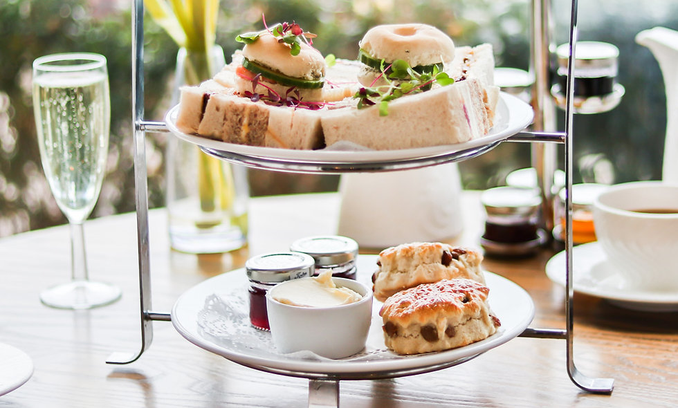 Prosecco Afternoon Tea for Two at Dover Marina Hot