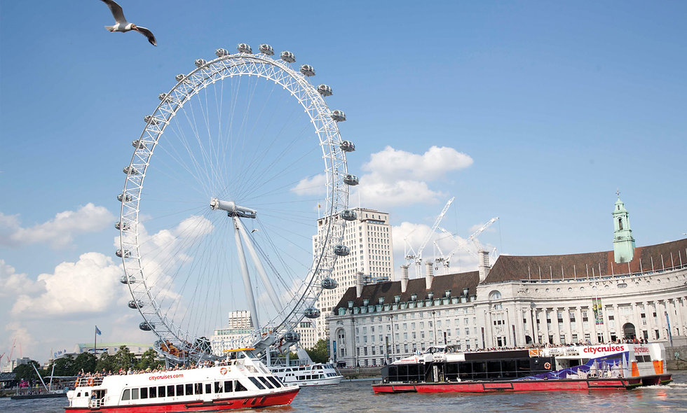 Thames Cruise Sightseeing River Red Rover Tickets