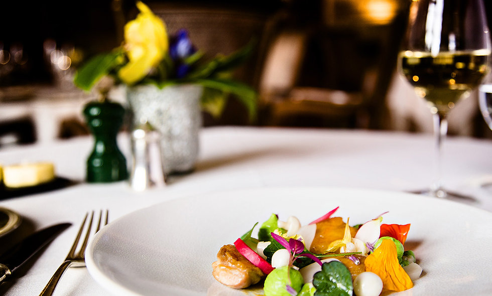 Seven Course Tasting Menu for Two at the 3 AA Rosette Mallory Court