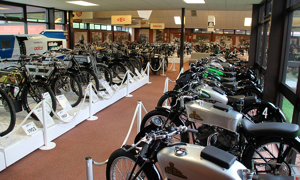 Visit to The National Motorcycle Museum for Two Adults & Two Children