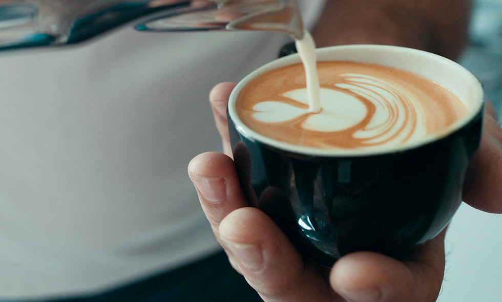 Learn Latte Art at Winchester School of Coffee for One