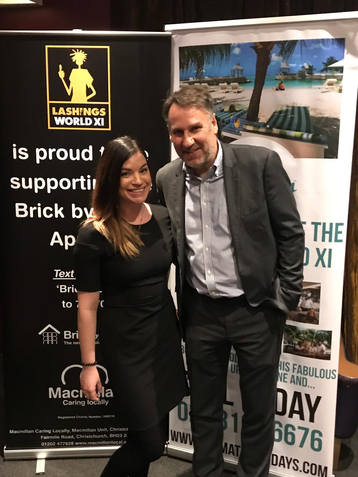 Our BDM Melissa with Paul Merson